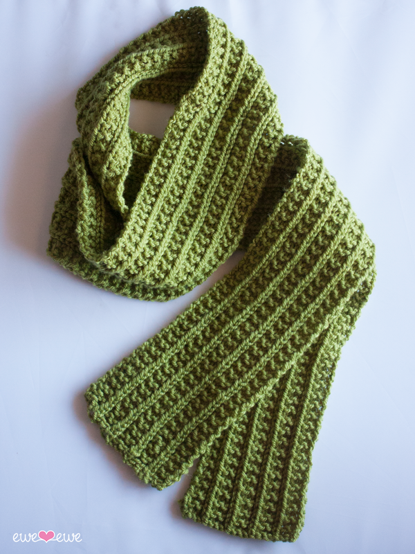 Wainscot Scarf {free knitting pattern}   Ewe Ewe Yarns