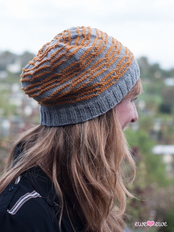 Doodle Stitch Beanie tutorial using Ewe So Sporty yarn