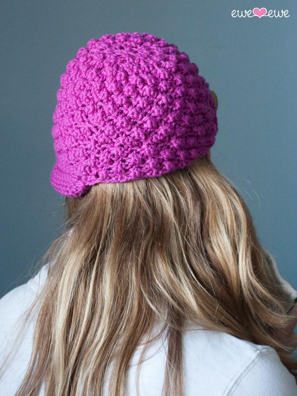 Bobble Brim Hat Pdf Knitting Pattern Ewe Ewe Yarns