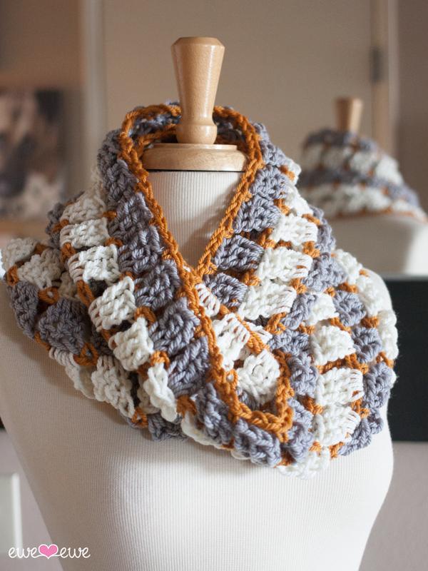 Reef Sand Pdf Crochet Cowl And Infinity Scarf Pattern Ewe Ewe Yarns