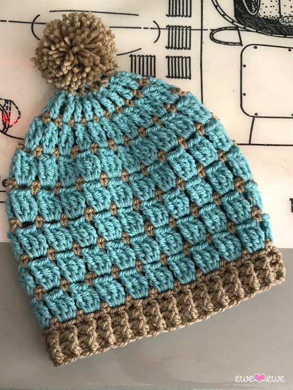 Wooly Windows Pdf Free Crochet Hat Pattern Ewe Ewe Yarns
