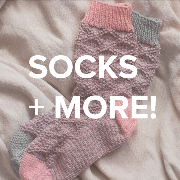 socks + accessories knitting patterns
