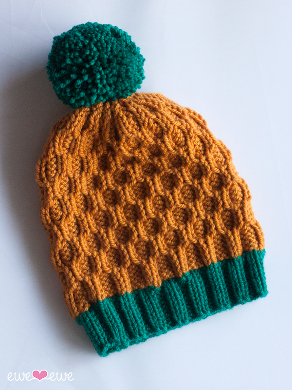 Pineapple Expressions Pdf Cable Hat Knitting Pattern Ewe Ewe Yarns