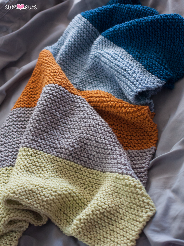 Big Bouncy Baby Blanket FREE PDF Knitting Pattern — Ewe Ewe Yarns
