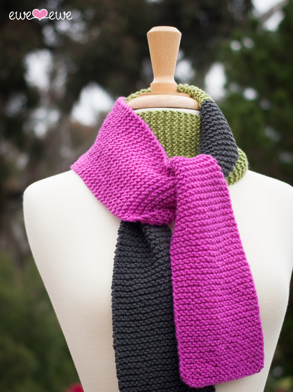 Ewe Ewe Scarf Scarf FREE Knitting Pattern — Ewe Ewe Yarns