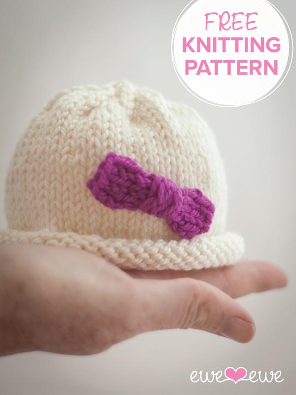 Hello Preemie Free Baby Hat Knitting Pattern Ewe Ewe Yarns