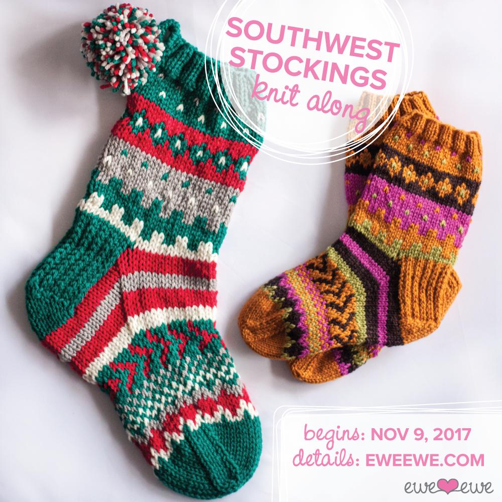 Southwest Stockings KAL