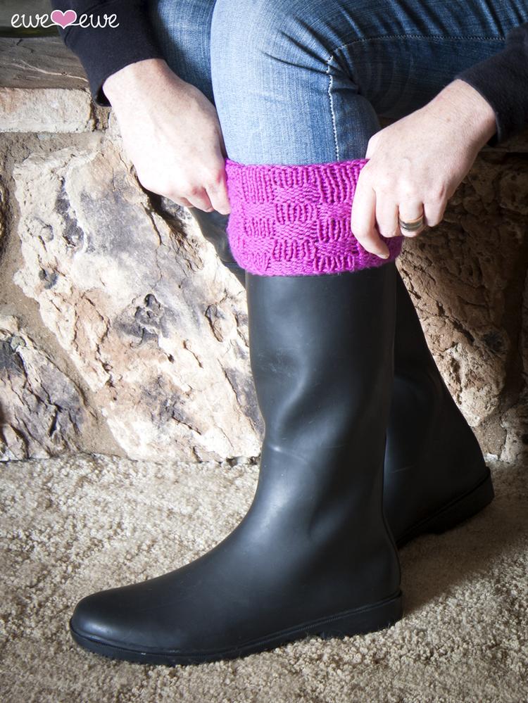 Wellie Warmers Boot Socks Pdf Knitting Pattern Ewe Ewe Yarns