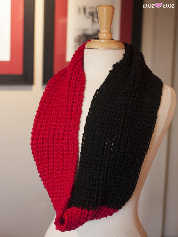 New! Cardinal Cowl FREE Knitting Pattern — Ewe Ewe Yarns