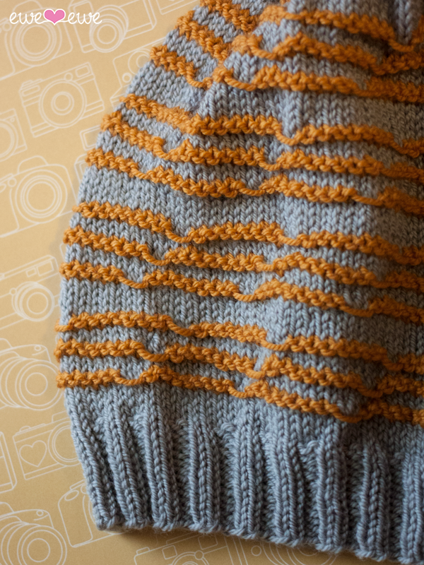 Doodle Stitch Beanie  knitting pattern