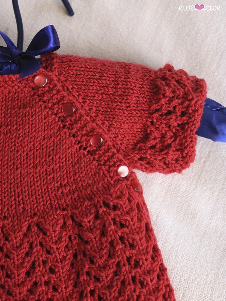 Cupcake Cardi Pdf Lace Baby Cardigan Knitting Pattern Ewe Ewe Yarns