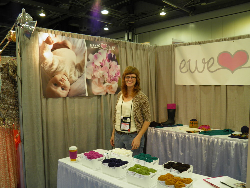 Heather Walpole, owner and founder of Ewe Ewe Yarns