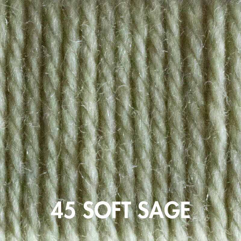 Wooly Worsted yarn in Soft Sage