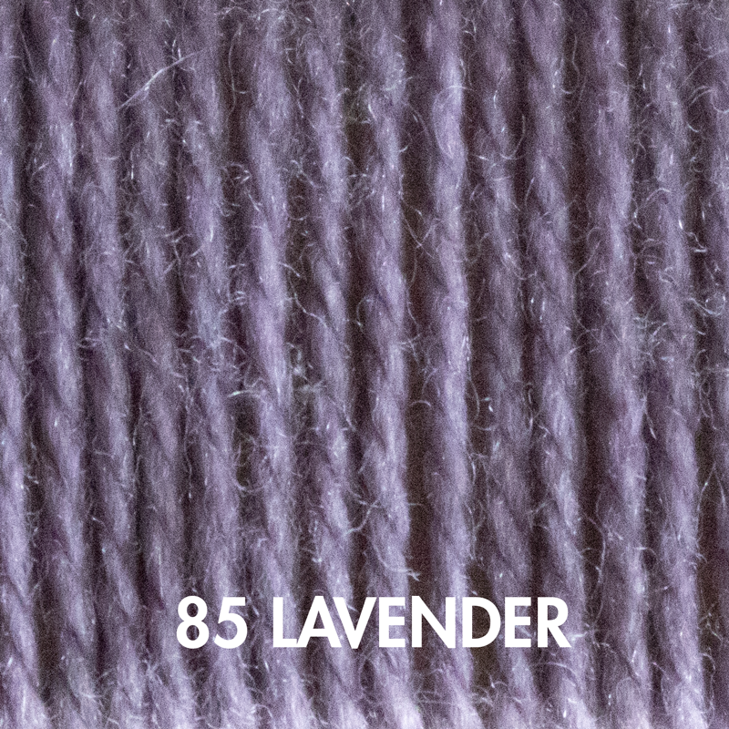 Wooly Worsted yarn in Lavender