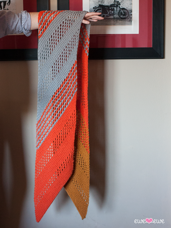 Marmalade Dream Pdf Scarf Knitting Pattern Ewe Ewe Yarns