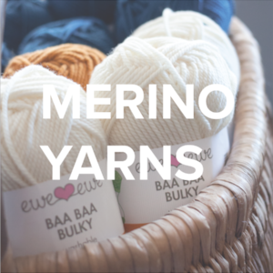 Merino Yarns by Ewe Ewe