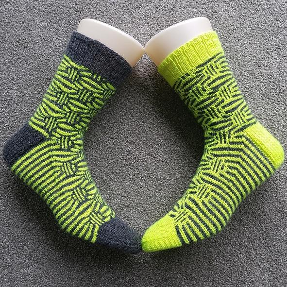 wendebular's Mosaic Marbles socks