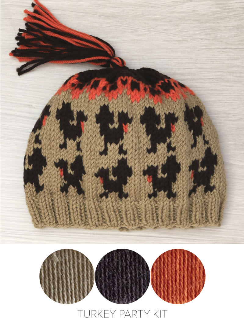Thanksgiving Hat Knitting Kits — Ewe Ewe Yarns 05142b35542