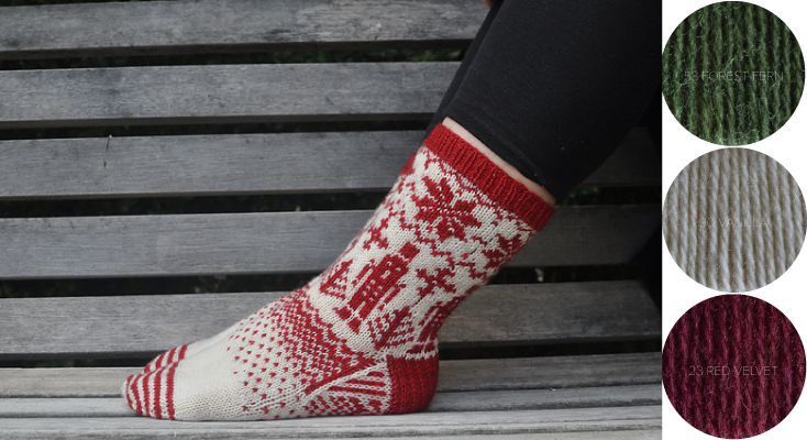Stahlbaum Haus  socks knitting pattern on Ravelry