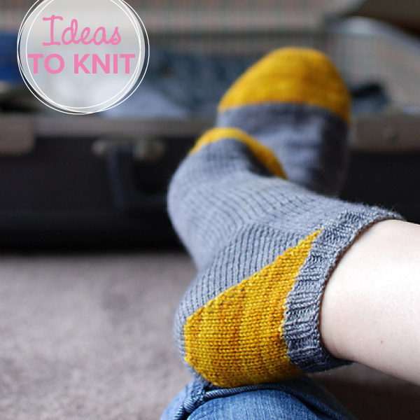Grellow Love  sock knitting pattern on Ravelry