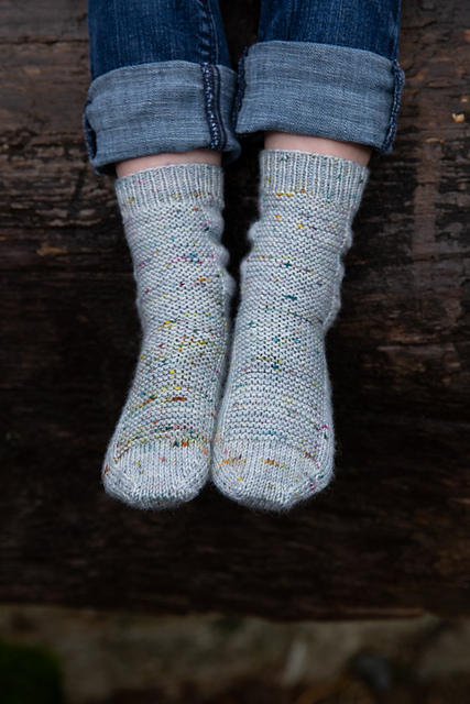 Rye Light  free sock knitting pattern on Ravelry