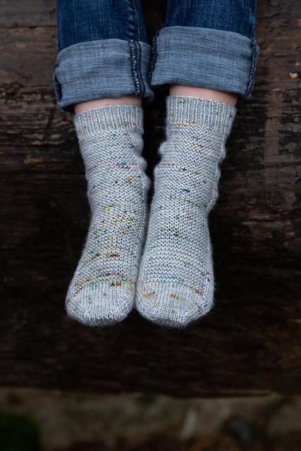 Rye Light  free sock knitting pattern on Ravelry