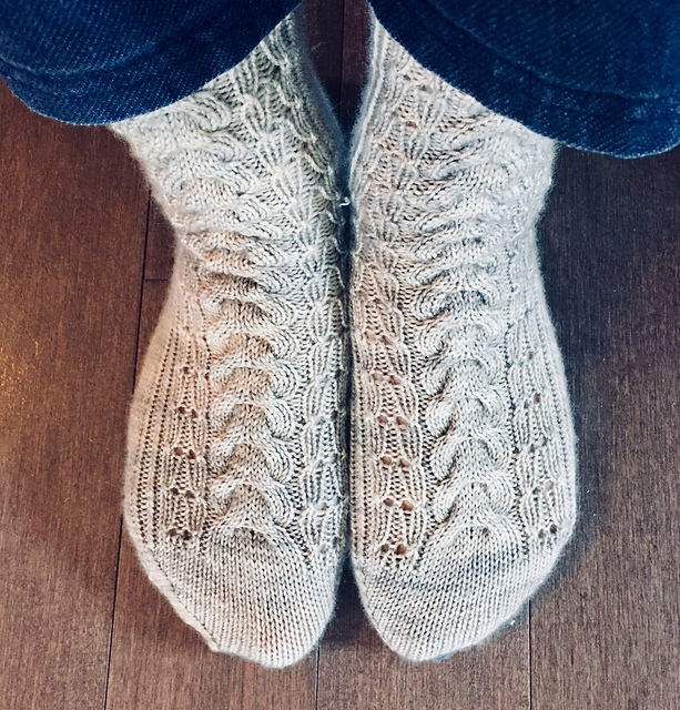 Galiano Socks  knitting pattern on Ravelry