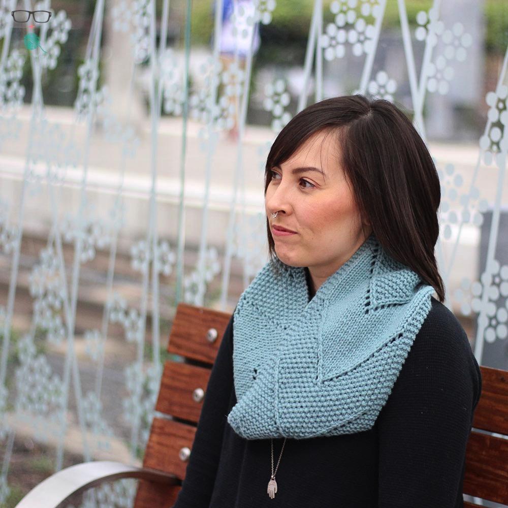 Split the Distance  knitting pattern on Ravelry