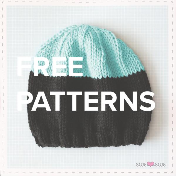 free knitting + crochet patterns