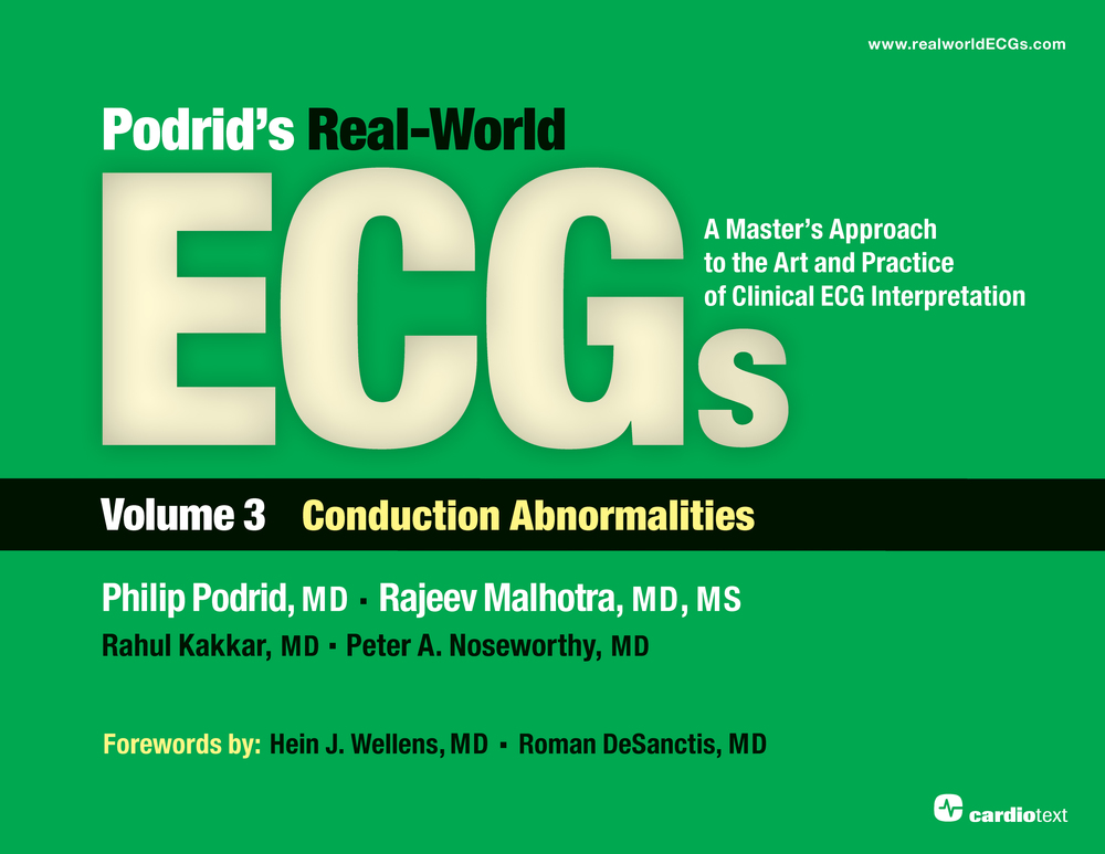 Podrid's Real-World ECGs Volume 3