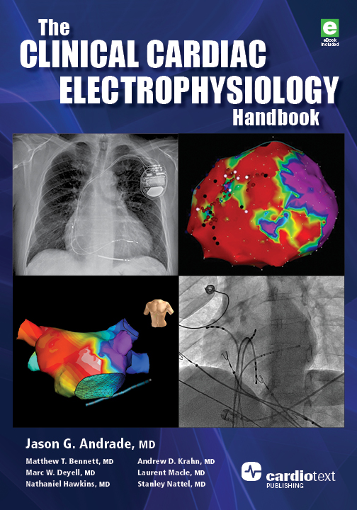 The Clinical Cardiac Electrophysiology Handbook Andrade, 2016