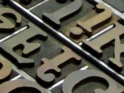 interrobang letterpress
