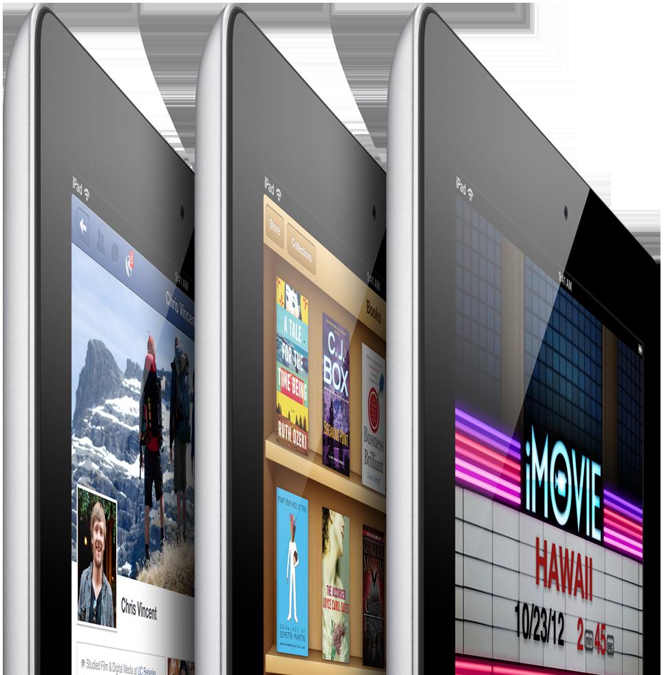 iPad rental units