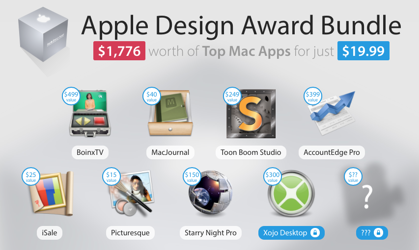 MacHeist Apple Design Award Bundle