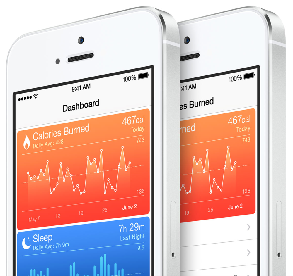 Health.app on iPhone