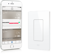 Elgato Eve Light Switch, Homekit Enabled - $69.95