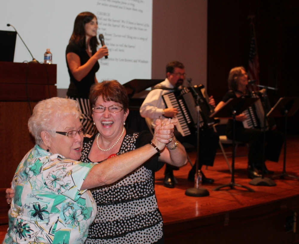 Where there's music, there's dancing, especially when it's Czech polka music! A crowd of 125 enjoyed the presentation in Austin./Gary E. McKee photo See more photos.