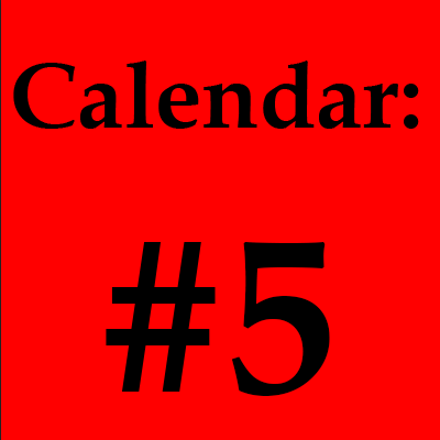 Click the Red Box to view Calendar Detail