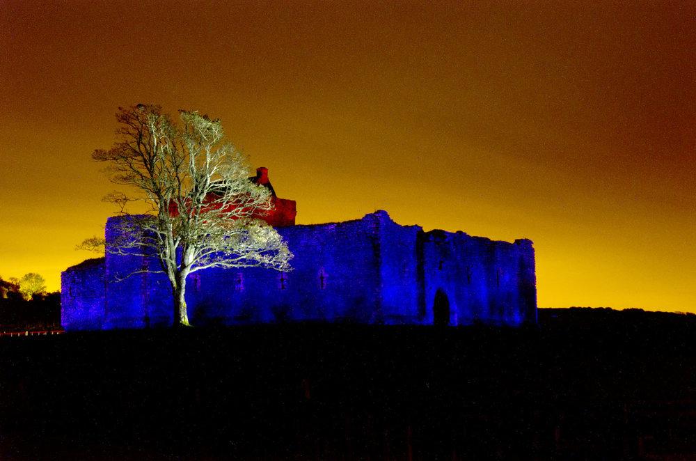 Skipness Castle, 2012. Nikon D90, lente 50mm, exposição de 40 minutos.