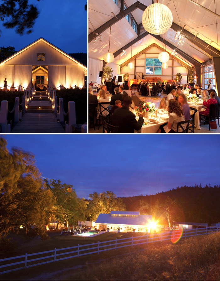 Everyone enjoyed the wedding venue, both from the inside and from the outside.