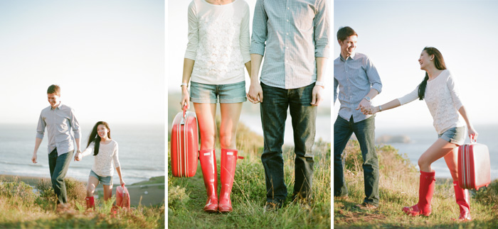 Sylvie-Gil-Engagement-Film-Photography-couple-red-rainboots-hunter-suitcase-vintage-mallet.jpg