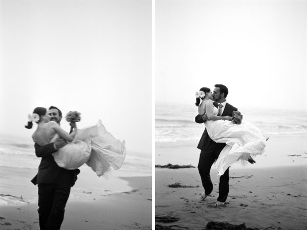 sylvie-gil-film-photography-engagement-black-white-beach-santa-barbara-  weddings