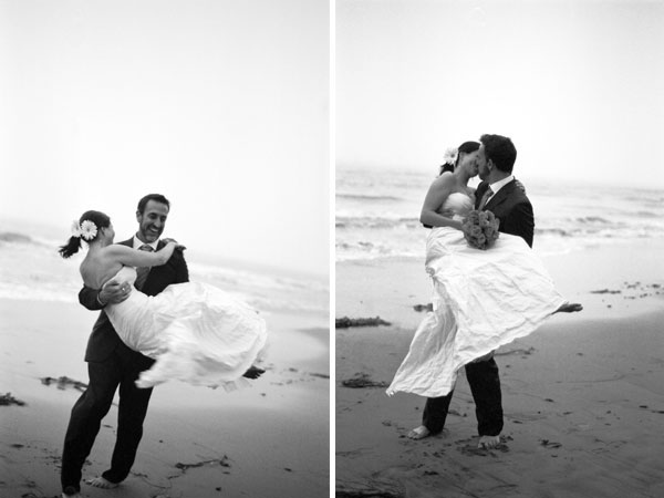 sylvie-gil-film-photography-engagement-black-white-beach-santa-barbara-  weddings