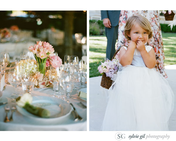 sylvie-gil-film-photography-wedding-style-me-pretty-published-online-annena-beaulieu-garden-paula-leduc-vera-wang-napa-flower-girl-table
