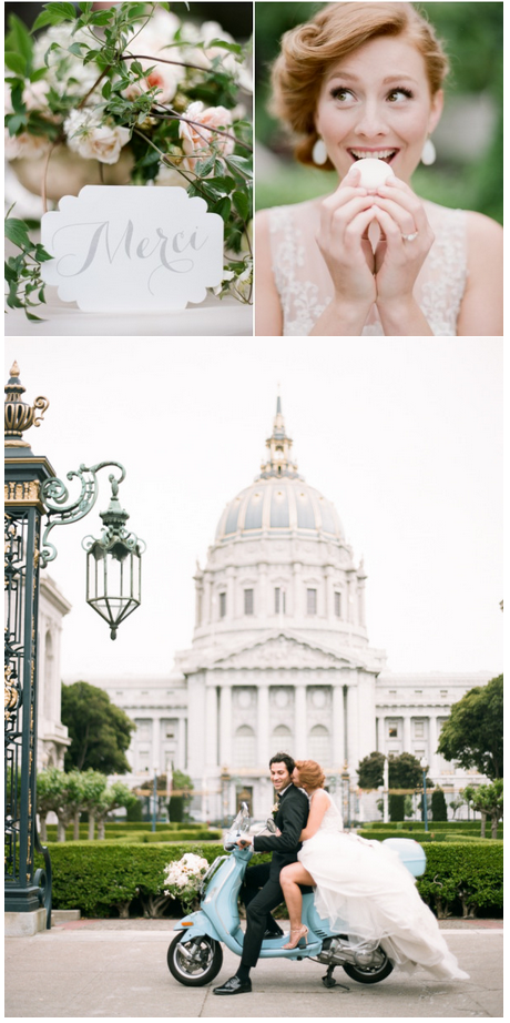 Sylvie Gil Style Me Pretty Parisian inspired wedding