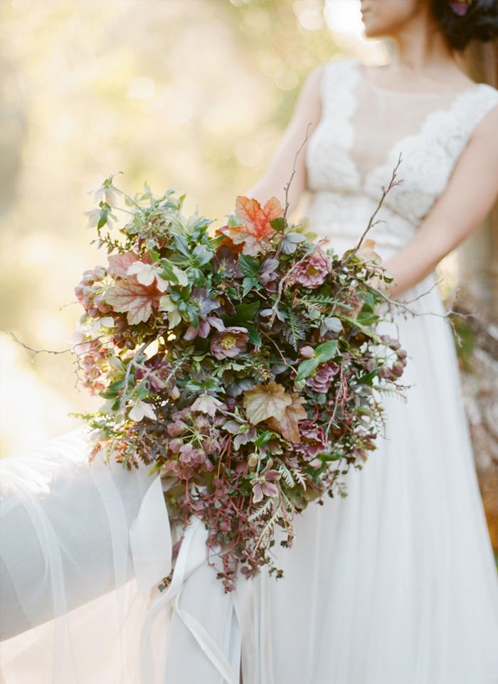 SylvieGil- Film-Photography-wedding gown- Napa-Sonoma-California- destination-natural bouquet-florals