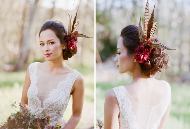 Wood-fairy-bride-feathers-headpieces