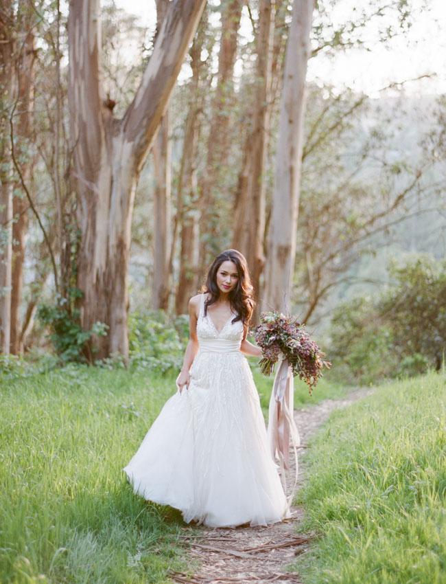 Sylvie-Gil-fairy-wood-bride-long-dark-hair