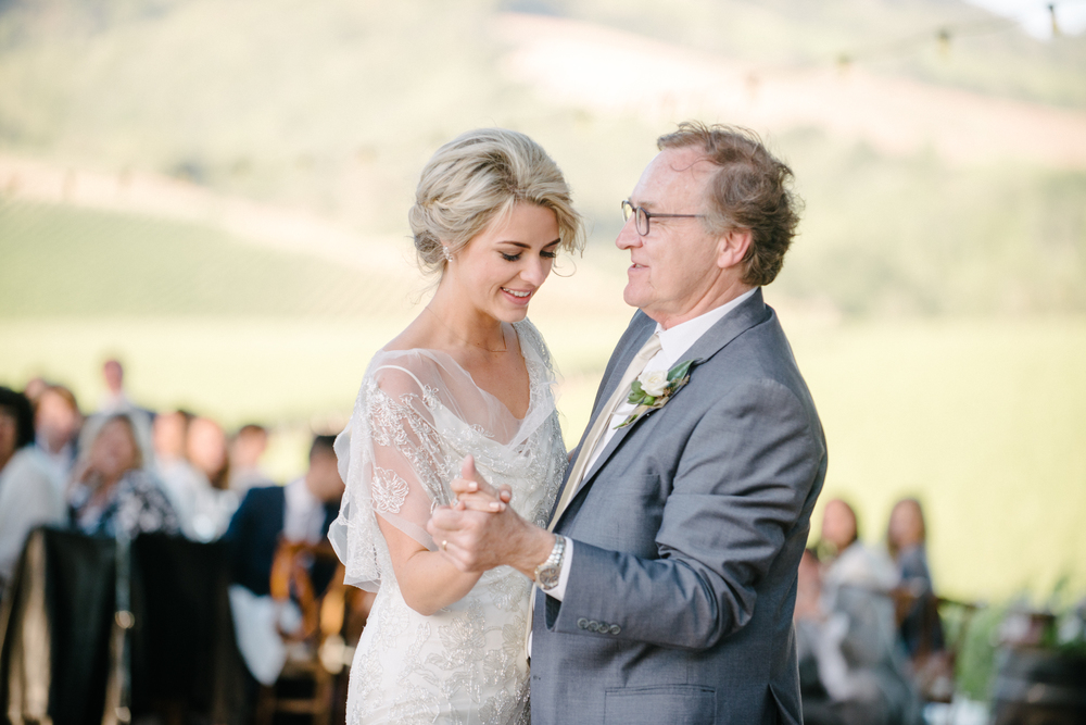 Sylvie-Gil-film-destination-photography-Kunde-winery-Napa-Valley-elegant-shabby-chic-bride-father-dance