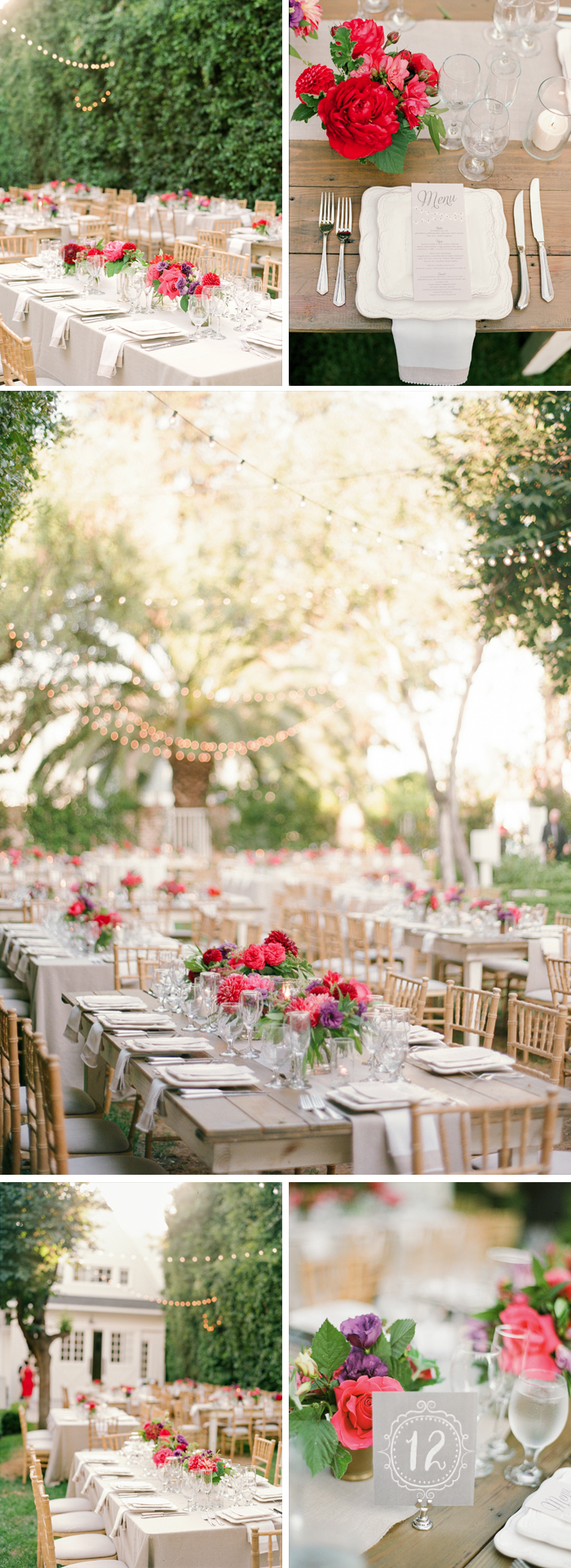 Sylvie-Gil-Lombardi-House-LosAngeles-colorful-wedding-outdoor-reception-white-barn-table-settings